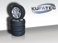 VW Wheels with 18-inch alloy wheels incl. tire pressure sensor