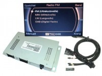 DAB Digital Radio Retrofit for Audi A8 4E - MMI 2G - TV factory fitted