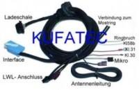 Kabelsatz Telefonfesteinbau Motorola Audi A6 4F - MMI 2G
