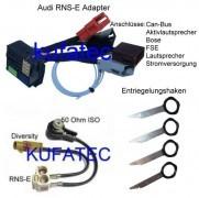 RNS-E Bundle RNS-E Adapter + Antennenadapter + Ausbauwerkzeug