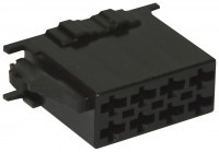 ISO power connector housing 8 pin 10 pieces