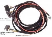 Kabelsatz beheizbare Rücksitzbank A3 8P & 8P Sport