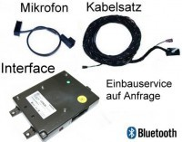 Bluetooth Premium (with rSAP) - Retrofit - VW Scirocco 1K