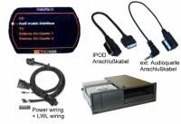 Nachrüst-Set AMI (Audi Music Interface) für Audi A5 8T MMI 2G - Mini USB