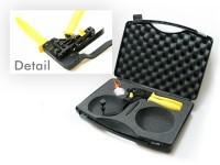 Hand crimp tool inner conductor FAKRA - straight