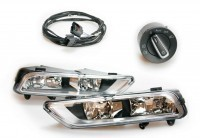 Retrofit kit fog lights for VW Passat B7 - with auto-light assistant