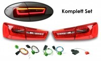 Komplett-Set LED-Heckleuchten für Audi A6 Avant (4G)