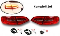 Komplett Set LED Heckleuchten Audi A4/S4 Avant Facelift