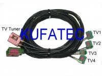 Kabelsatz TV-Antennenmodule für Audi A5 8T - Cabriolet