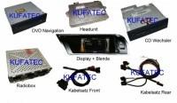 Nachrüst-Set MMI2G High inkl. DVD Navigation für Audi A4 B8