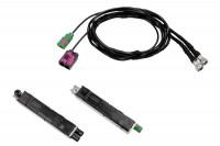 Antennenmodule + Kabelsatz FISCUBE für Audi A8 4H