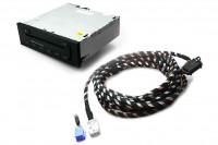 Audi CD-Wechsler inkl. Kabelsatz für A3 8P, A4 8E, TT 8J - Mini ISO, 5 m Länge