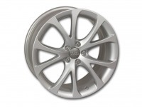 Original Audi A1 cast aluminum wheel in 5-V-spoke design