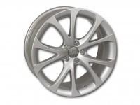 Original Audi A1 cast aluminum wheel in 5-V-spoke design