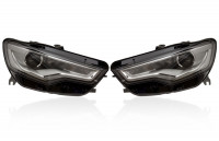 Bi-Xenon Headlights with LED DRL for Audi A6 4G