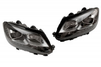Bi-Xenon headlights set LED DRL for VW Touran 2011