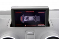 Audi Parking System Front Retrofit for Audi A1 8X - without seat heating / with Drive Select / from model year 2015