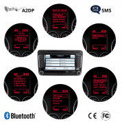 """FISCON Bluetooth Handsfree """"Basic-Plus"""" for VW, Skoda - without ceiling lights microphone"""