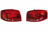 Facelift LED Rear Lights - Original Design for Audi A3 8P - left hand traffic