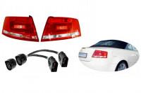 Facelift Heckleuchten LED für Audi A4 8H Cabrio + Adapter