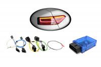 Kabelsatz + Codier-Dongle LED-Heckleuchten für Audi A5/S5 Facelift - LED auf LED facelift