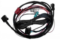 TV Tuner - Harness with Fiber Optic for Audi Q7 4L - MMI 2G - without rear view camera factory fitted