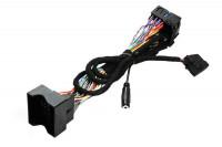Cable set spare part for the FISCON handsfree Quadlock Audi, VW, Skoda