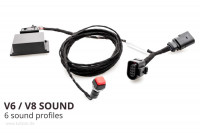 Sound Booster Pro Active Sound for Porsche Macan 95b