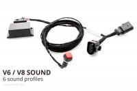 Sound Booster Pro Active Sound für Porsche Macan 95b