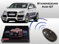 Retrofit-set Auxiliary heating Audi Q7