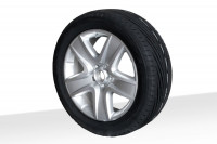 "VW wheel with 18"" alloy rim incl. tire pressure sensor"