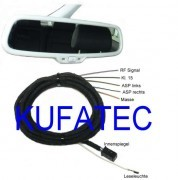 Auto-Dimming Interior Mirror - Harness for Audi A6 4F, Q7 4L - incl. high beam assist