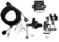Complete auto-leveling set for Audi Q7 4L - cornering light with LED DRL