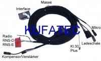 """Kabelsatz Handyvorbeitung Bluetooth Audi A3 8P """"komplett"""""""