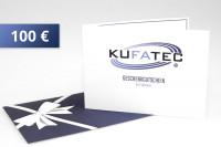 KUFATEC Geschenkgutschein 100 EUR
