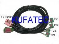 TV Antenna Module - Harness - Audi A6 4F - MMI 2G