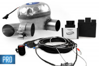 Universal complete kit Active Sound incl. Sound Booster for VW, Seat, Skoda - outside installation - PRO