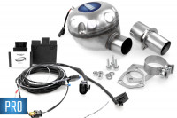 Universal complete kit Active Sound incl. Sound Booster for Audi - inside installation - PRO