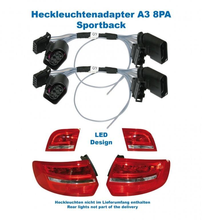 facelift led rear lights