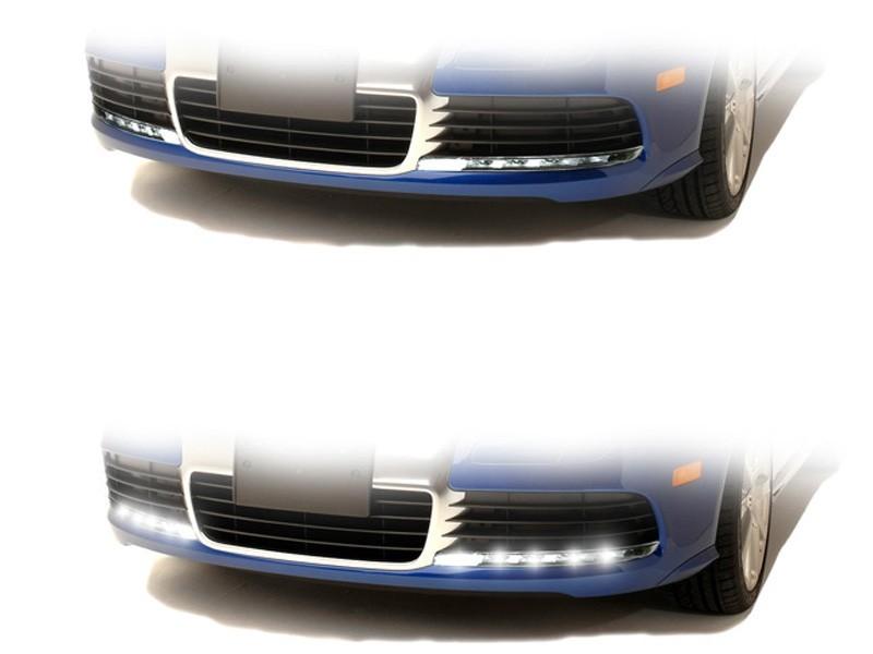 Daytime Running Lights Led Design For Audi S6 4f