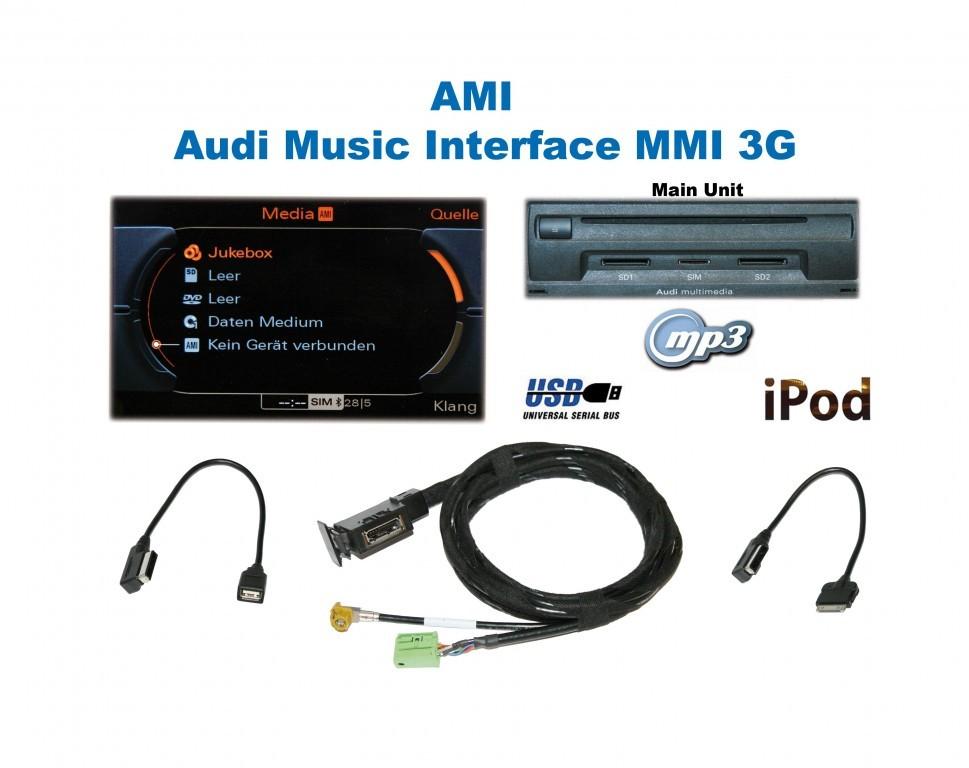 Ami Audi Music Interface Retrofit For Audi 36739 M