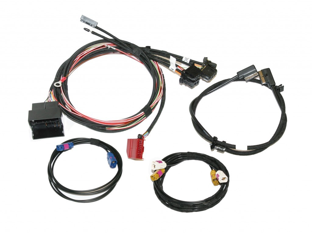 Mmi Basic Plus Upgrade To Mmi High 2g Harness For Audi A6 4f
