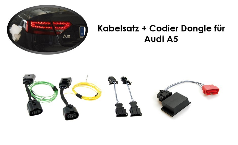 Wiring Harness   Coding Dongle Led Rear Lights Audi A5   S5