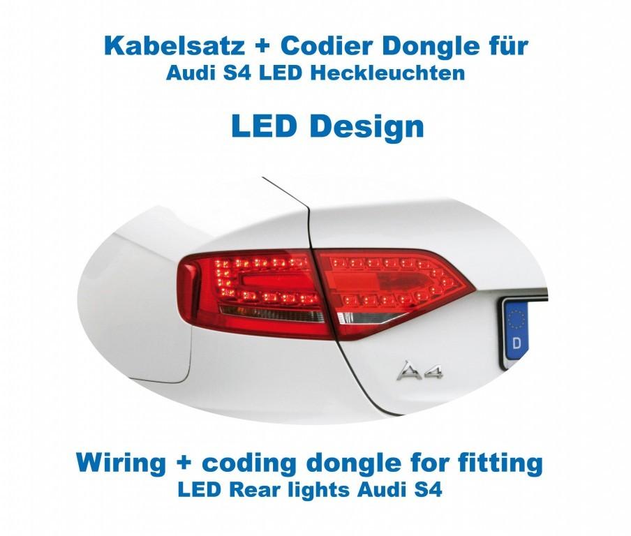 wiring coding dongle led rear lights for audi a4 s4 sedan rh kufatec de audi a4 tail light wiring diagram audi a3 rear lights wiring diagram