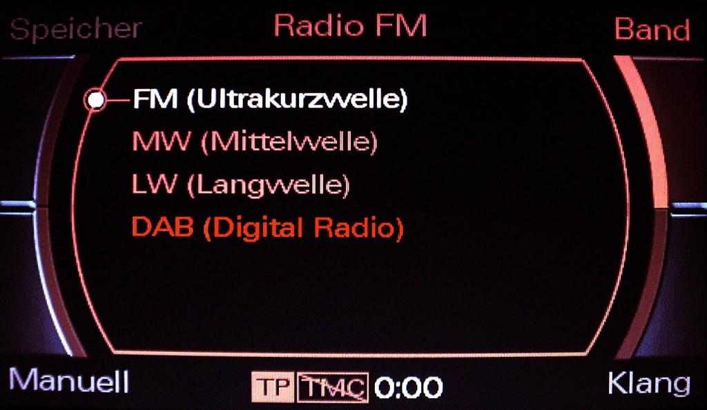 Kabelsatz Digitales Radio Dab F 252 R Audi A6 4f Mmi 2g