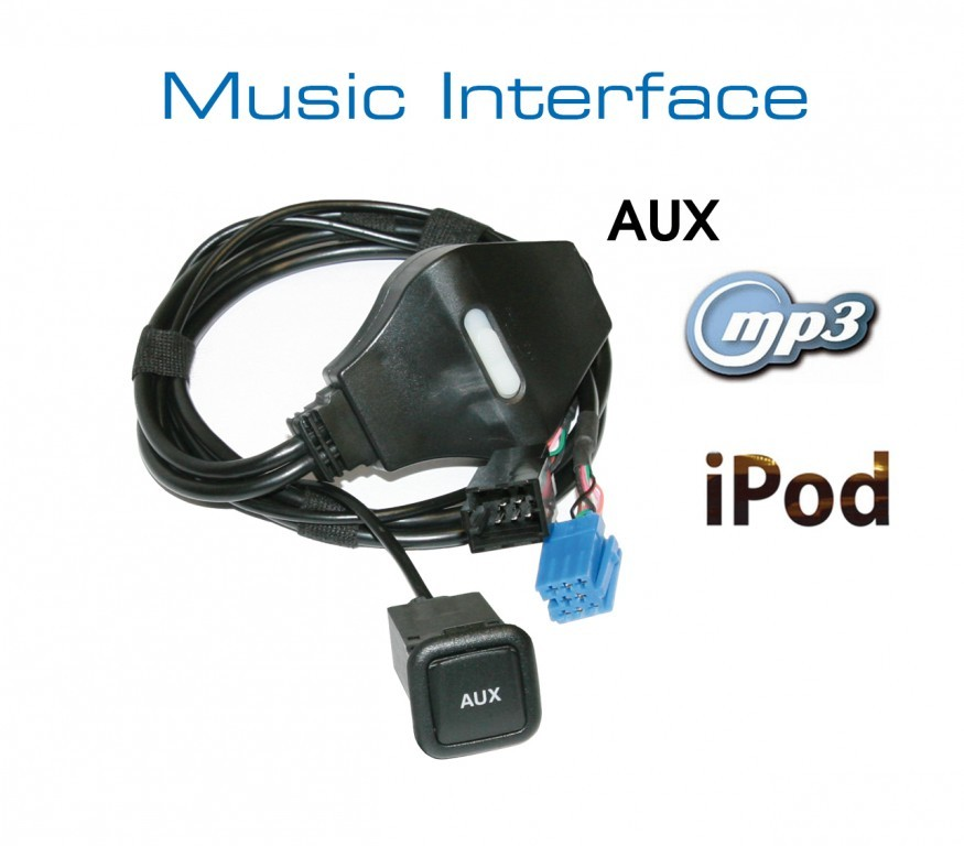 music interface aux mini iso for audi vw seat skoda. Black Bedroom Furniture Sets. Home Design Ideas