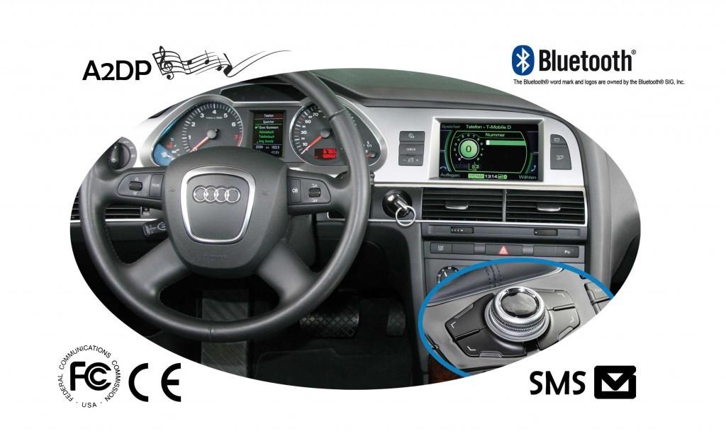 Fiscon Freisprecheinrichtung Pro F 252 R Audi Mmi 2g