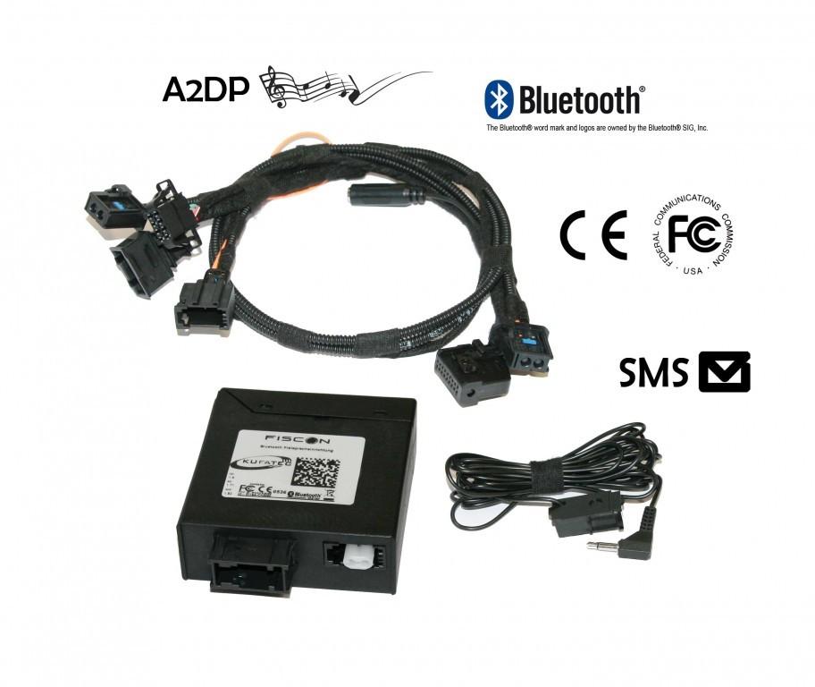 Fiscon Mains Libres Bluetooth Quot Pro Quot Pour Audi Mmi 2g