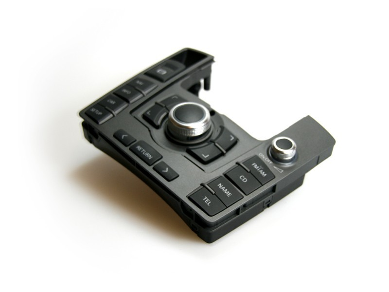 audi mmi panel 8 button for audi a6 4f mmi 2g. Black Bedroom Furniture Sets. Home Design Ideas