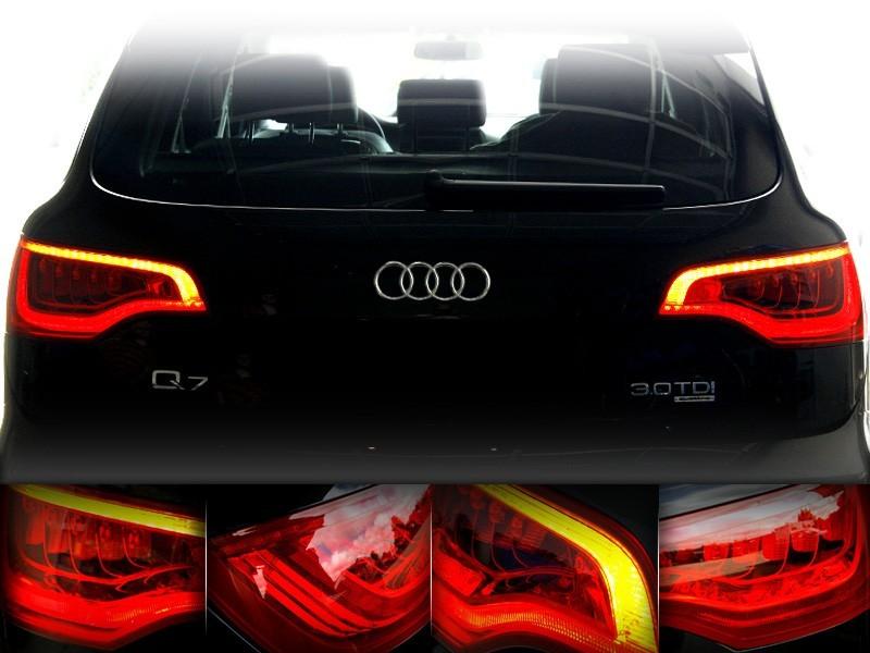 Upgrade Facelift Led Rear Lights For Audi Q7 4l
